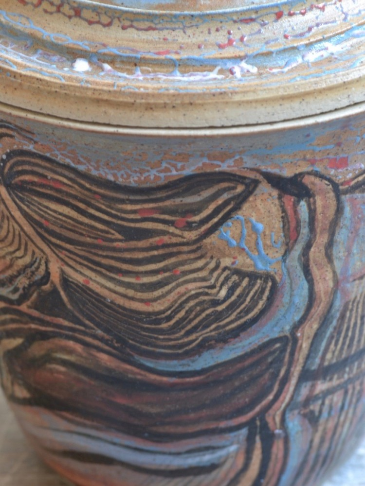 Anna Ramsair Urn Steengoed 2016 detail